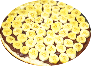PIZZA NUTELLA & BANANE